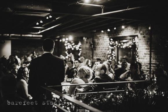 Gloves Columbus, Ohio Winter Wedding The Venue/Dock580
